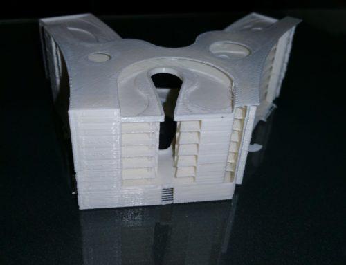 Blue Ring 3D printing